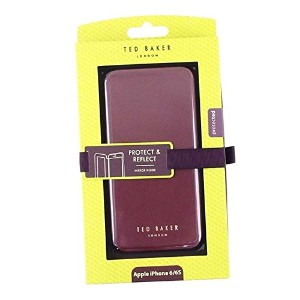 Ted Baker (テッドベーカー) スマホケース SHANNON WINE 129498 BOOK WITH MIRROR IPHONE 6 CASE OXBLOOD [並行輸入品]
