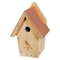 Woodlink Audubon Series WLBB303 Coppertop Bluebird House