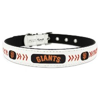 GameWear CLC-MLB-SAG-M San Francisco Giants Medium Classic Leather Medium Baseball Collar