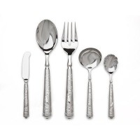 Ricci 5-pieceオーデュボンBirds of Paradise Flatware Hostess Set