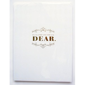 Hey! Say! JUMP LIVE TOUR 2016 DEAR. 公式グッズ パンフレット