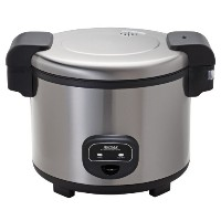 Aroma Housewares 60-Cup (Cooked) (30-Cup UNCOOKED) Commercial Rice Cooker, Stainless Steel Exterior...