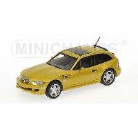 BMW | Z-SERIES M COUPE 1999 | YELLOW MET /Minichampsミニチャンプス 1/43 ミニカー