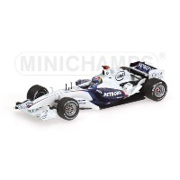 BMW | F1 SAUBER F1.06 TEST VALENCIA 2006 ALEX ZANARDI | WHITE BLUE /Minichampsミニチャンプス 1/43 ミニカー