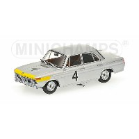 BMW | 1800 TISA N 4 WINNER 24h SPA 1965 ICKX - VAN OPHEM | SILVER YELLOW /Minichampsミニチャンプス 1/43...