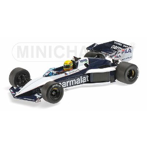 BRABHAM | F1 BMW BT52B N 5 TEST PAUL RICARD 14 NOVEMBER 1983 AYRTON SENNA | BLUE WHITE /Minichampsミニ...
