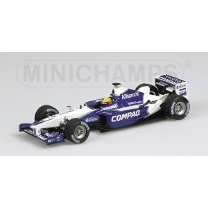 WILLIAMS | F1 BMW FW24 N 5 SEASON 2002 R.SCHUMACHER | WHITE BLUE /Minichampsミニチャンプス 1/43 ミニカー