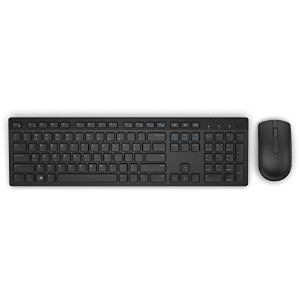 Dell KM636 - Keyboard and mouse set - wireless - 2.4 GHz - black - for Latitude E7270, OptiPlex...