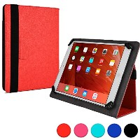 Cooper Cases (TM) Infinite ユニバーサル 9 - 10.1インチ Toshiba Excite AT200 / Tablet A204YB タブレットフォリオケース(レッド...