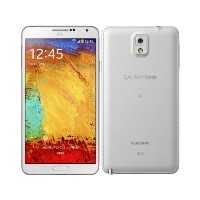 au SCL22 GALAXY Note 3 クラシックホワイト 白ロム