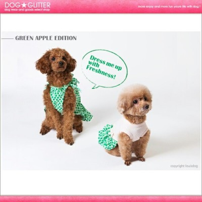 ルイスドッグ LouisDog Green Apple Dress【RCP】【HLS_DU】