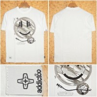 ADDICT [アディクト] TシャツADM1511N HEAD PHONE DECK BUSH