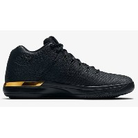 "Nike Air Jordan XXXI 31 Low ""Triple Black"" メンズ Black/Anthracite-Metallic Gold ジョーダン ナイキ バッシュ"