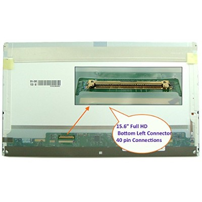 """Au Optronics B156hw02 V.1 Replacement LAPTOP LCD Screen 15.6"""" Full-HD LED DIODE (Substitute..."""