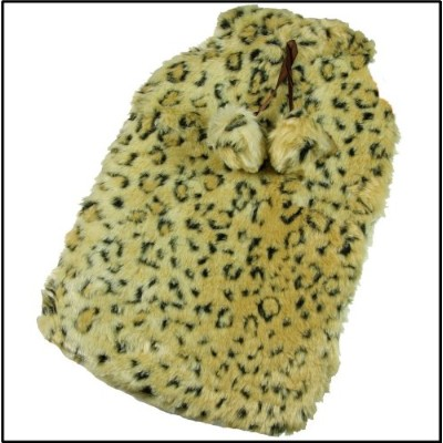 Adults 2 Litre Animal Print Fauk Fur Hot Water Bottle Cover Hw154