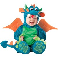 Dinky Dragon Infant / Toddler Costume ちっぽけドラゴンの幼児/幼児コスチューム サイズ:18 Months/2T