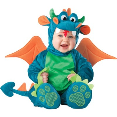 Dinky Dragon Infant / Toddler Costume ちっぽけドラゴンの幼児/幼児コスチューム サイズ:6/12 Months