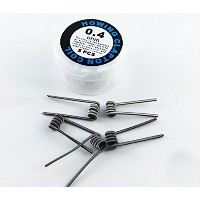 Howing「Kanthal A1 Pre-build Clapton Coil」0.4Ω - 24AWG*24AWG / クラプトン / プリビルドコイル / カンタルワイヤー