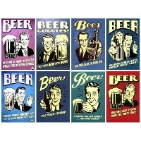 Lot 8 Pcs Beer Funny Saying Fridge Magnet Home Decor (Funny Gift) - No.2 by We Are Handmade Art...