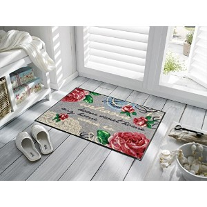 KLEEN TEX wash+dry Country+Cottage F009A Nordic Romance 50×75cm