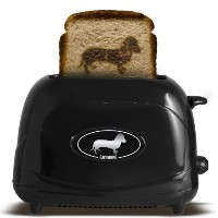 Pangea Brands TSTE-PET-DACH 2-Slice Pet Emblazing Toaster, Dachshund [並行輸入品]