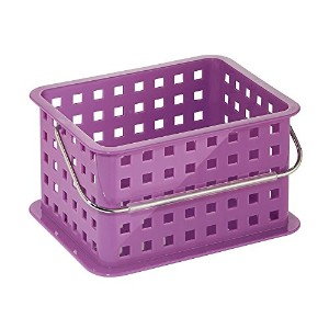 InterDesign Spa Basket, Small, Purple [並行輸入品]