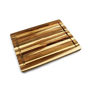 Villa Acacia Cutting Board , Naturally Eco Friendly – 16 x 12 x 0.75インチ