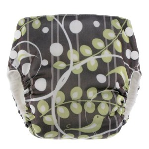 Blueberry Basix All in One Pocket Diaper (Medium, Tweets) by Blueberry