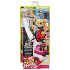 バービー メイドトゥームーブ ドール 格闘家 [Barbie Made to Move The Ultimate Posable Martial Artist Doll/ MATTEL/DWN39 ...