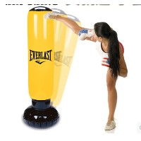 Fitness Adult Child boxing column inflatable tumbler inflatable toys thickening sandbag vent their...