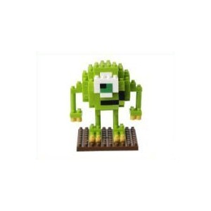 【TDR マイク ナノブロック】 東京ディズニーリゾート限定 MONSTERS INC MIKE nanoblock