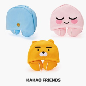 【Kakao friends】カカオフレンズフードネックピロー/Kakao friends hood neck pillow/3種・韓国KAKAO FRIENDS正品