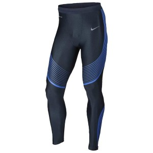 ナイキ メンズ インナー・下着 タイツ・スパッツ【Nike Dri-FIT Run Speed Tights】Midnight Navy/Hyper Cobalt/Reflective Silver