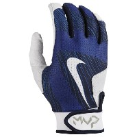 ナイキ メンズ 野球 グローブ【Nike MVP Edge Batting Gloves】Game Royal/White/Collegiate Navy