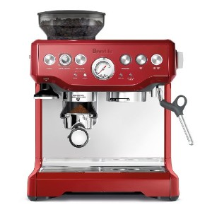 Breville ブレビル  Bes870cbxl The Barista Express Coffee Machine Cranberry Red バリスタエキスプレス エスプレッソマシン...