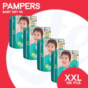 [PnG] Pampers-  Baby Dry XXL 136pcs