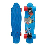 """Penny Skateboard(ペニースケートボード) 正規代理店商品 PENNY SIMPSONS COMPLETE 22"""" 0PSMP ITCHY&SCRATCHY 全長22インチ(約56cm..."""