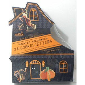 William andソノマwsKids Haunted Halloween 3- D Cookie Cutters