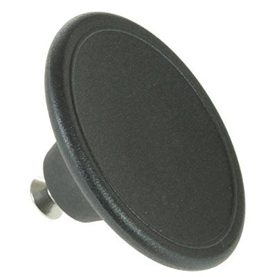 SPARES2GO Universal 5.5cm Large Handle Lid Knob For Pressure Cooker (Black)