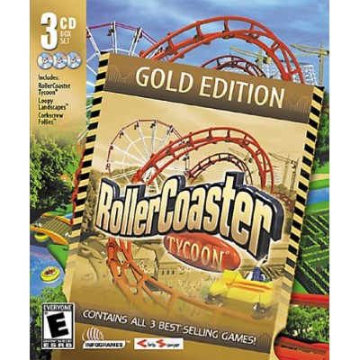 RollerCoaster Tycoon Gold Edition (輸入版)