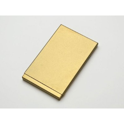 [mgn] mg-024   Brass Card Case -VINTAGE Edition- 真鍮製 名刺入れ