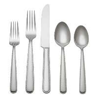Reed & Barton 1482445000ステッチ45-piece Flatware Set