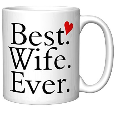 """"""" Best Wife Ever""""とハートコーヒーマグ(Init 2.1)"""