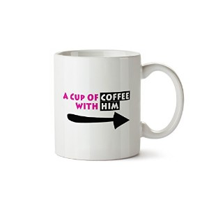 sillysips for Himコーヒー11オンス面白いコーヒーマグ