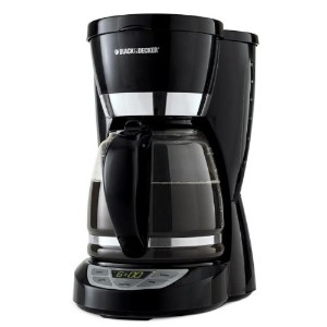 Black & Decker コーヒーメーカー CM1050B 12-Cup Programmable Coffeemaker, Black 【並行輸入品】