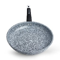 WaxonWare Deep Frying Pan With Stonetec (A 100% PTFE, PFOA and APEO Free) Ceramic Non-Stick Coating...