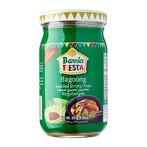 Bagoong Sauteed Shrinp Paste Regular(S) 小エビのソテー 250g 凤尾鱼炒虾酱 Barrio Fiesta