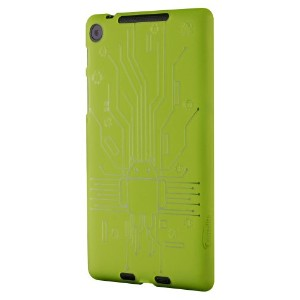 Cruzerlite Bugdroid Circuit Case for Nexus 7 (2013)(グリーン) N7FHD-Circuit-Green