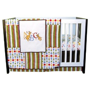 Trend Lab Dr Seuss 3 Piece Crib Bedding Set, ABC by Trend Lab