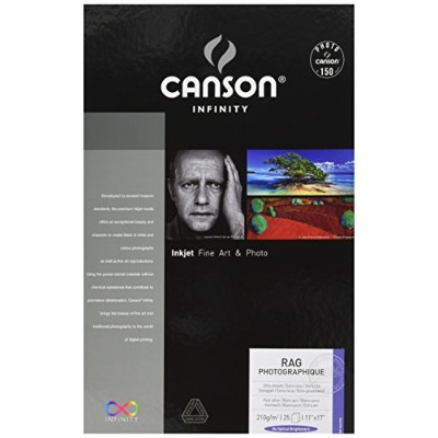 Canson Infinity Rag Photographique Fine Art Paper, 8.5X11 by Canson